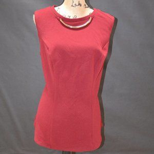 NWT Lily Star Burgundy Blouse Size 1X